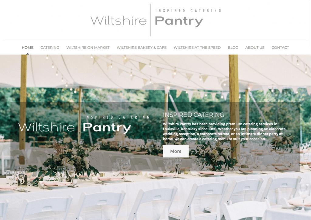 Wiltshire Pantry web site