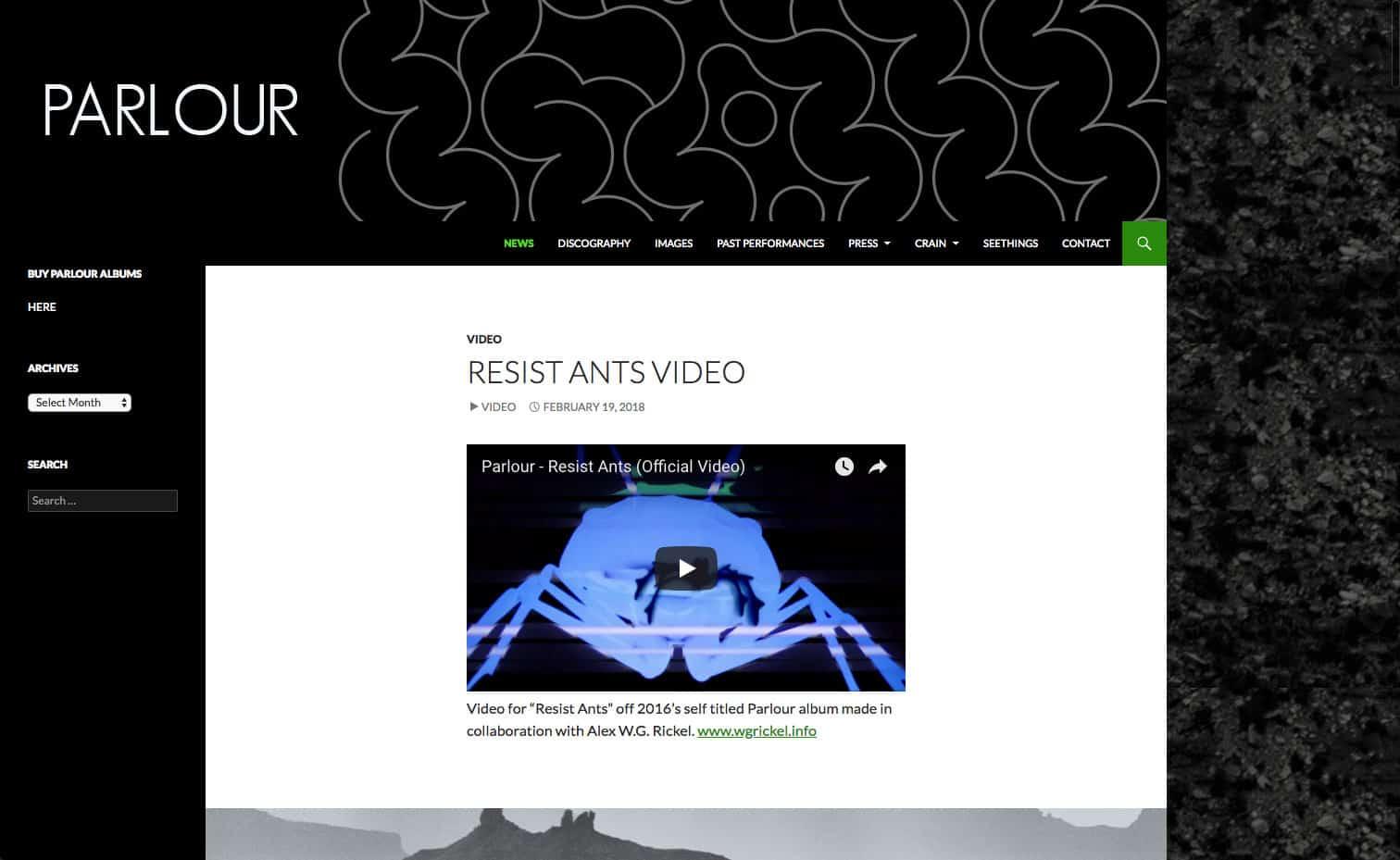 parlour.net-site